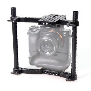 Image 3 - SmallRig Universalกล้องVersaFrame CageสำหรับCanon/Nikon/Sony/Panasonic GH3/GH4/Fujifilmกล้องDSLRแบตเตอรี่Grip 1750