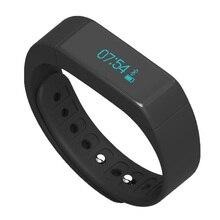 Лидер продаж 2016 года Bluetooth Smart Браслет I5 плюс смарт-браслет Android группа Сенсорный экран фитнес-трекер здоровый Смарт наручные часы