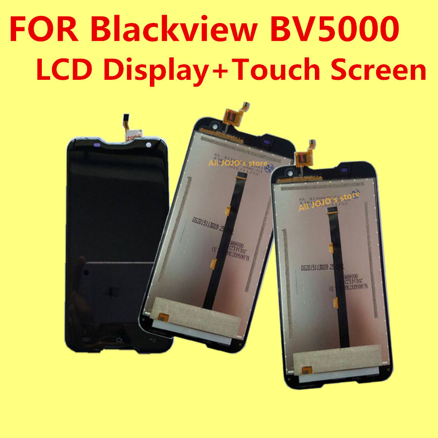 Para blackview bv5000 lcd display + touch screen + herramientas reemplazo digita