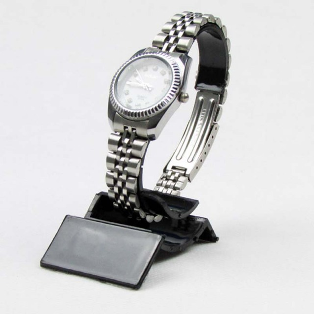 stand watch acrylic s ebay rotating display watches holds p revolving