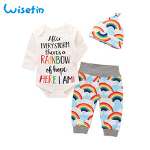 Wisefin New child Garments Set Child Woman Outfits 2018 Winter Cute Toddler Woman Autumn Clothes With Hat Toddler Child Garments Fall