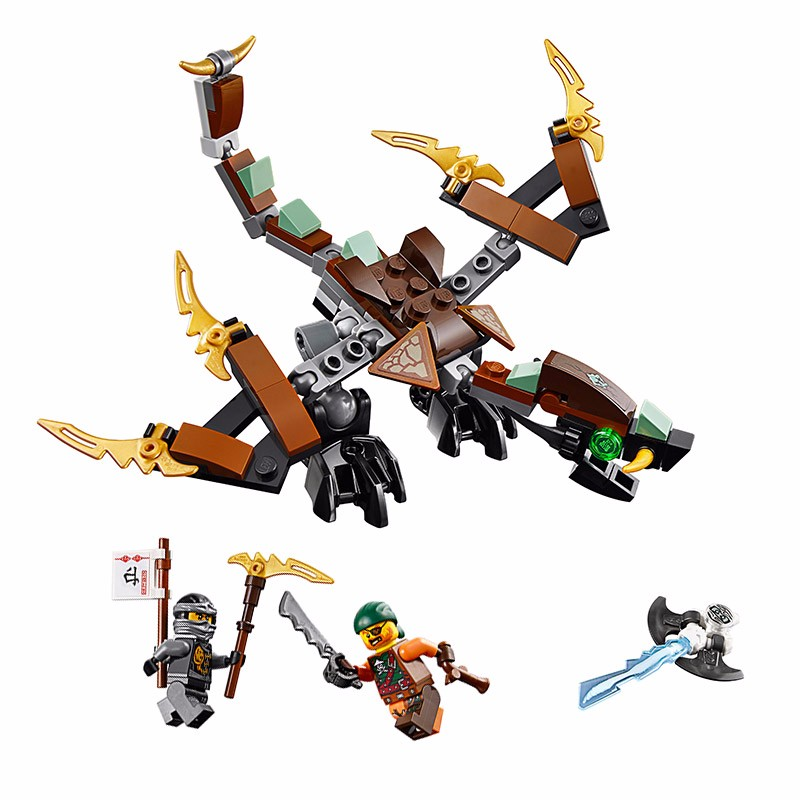 The Lowest Price LEPIN Ninjagoed Cole's Dragon Building Blocks New Kai Model Marvel Kits Kids Toys Compatible With legoings hot arrival new lepin 06024 cole s dragon ninjagoed ninja building block model kids bricks toys minifigures blocks