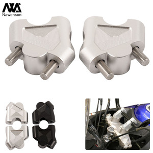 For Suzuki SV650 2016-2018 Motorcycle Handlebar Riser Extension Mount Handlebar Clamp Brackets for DL250/V-STROM 2017-2018(China)