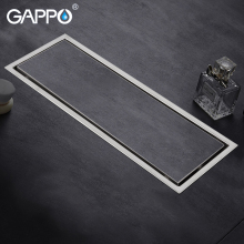 цена на GAPPO Drains stainless steel bathroom shower floor cover drain anti-odor Square shower floor waste drainers