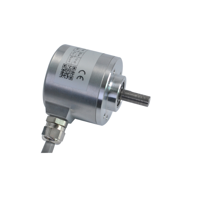 CALT 16 bit 65536 high resolution absolute rotary encoder CAS38 24V dc RS485 position sensor