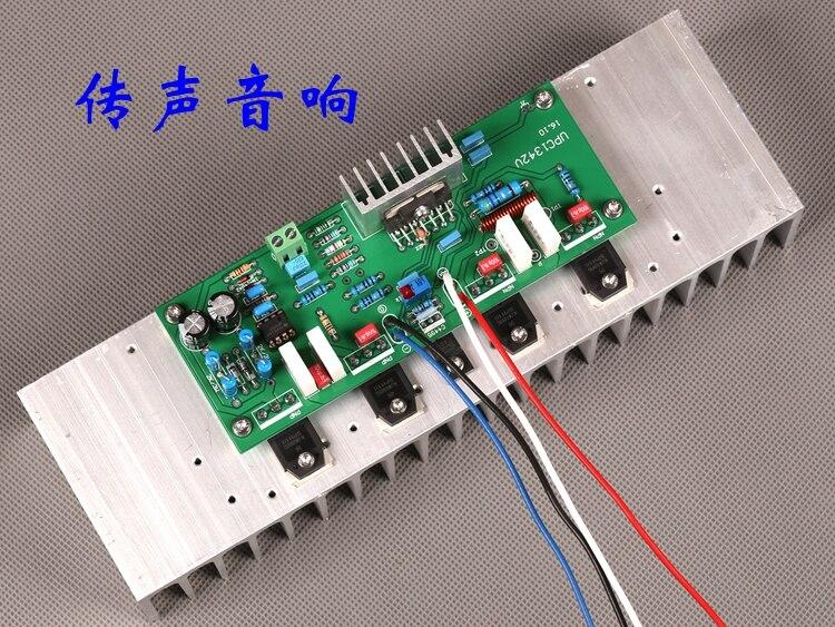 Assembled UPC1342V 150W NJW0302G/NJW0281G Mono HiFi Power Amplifier Board