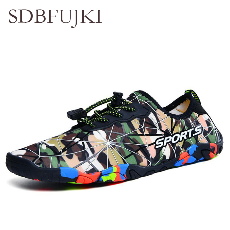 Outdoor Men Shoes Breathable Footwear Aqua Seaside Swimming Quickly-Dry Cheaper Women