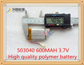053040 600MAH polymer battery factory direct polymer batteries