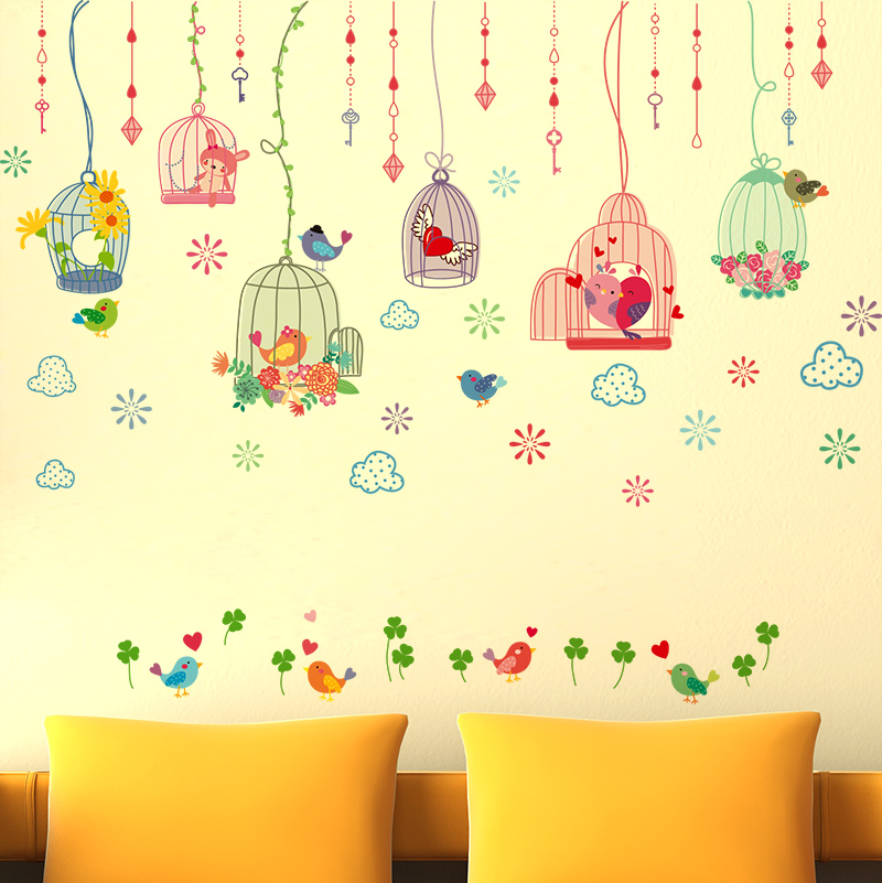 Beautiful Birdcage Wall Art Pictures Inspiration - Wall Art Design ...