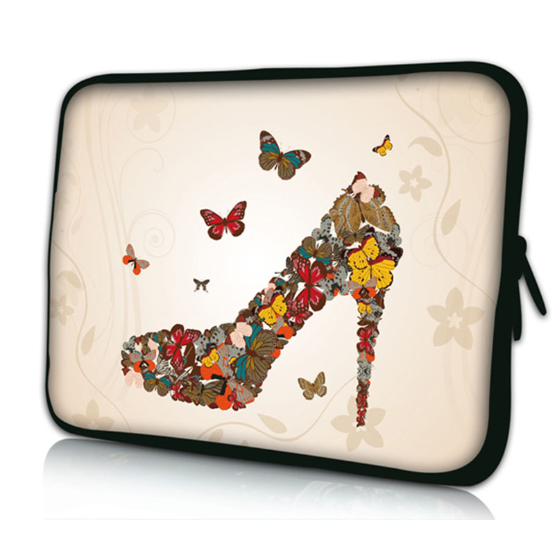 High heeled shoes laptop sleeve bag notebook case 9 7 10 1 for Housse macbook air 13