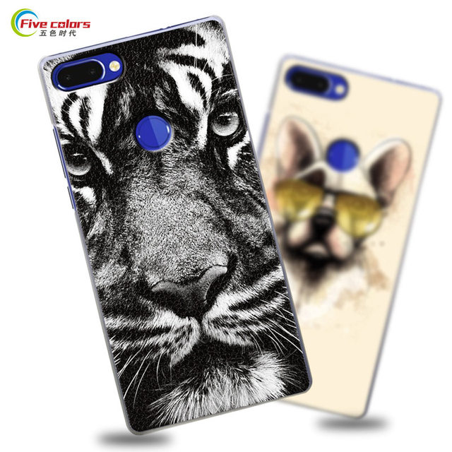 Vernee Mix 2 Case Vernee Mix 2 Cover Luxury Cartoon Printed Pattern Matte Hard Plastic Back Case for Vernee Mix 2 mobile phone