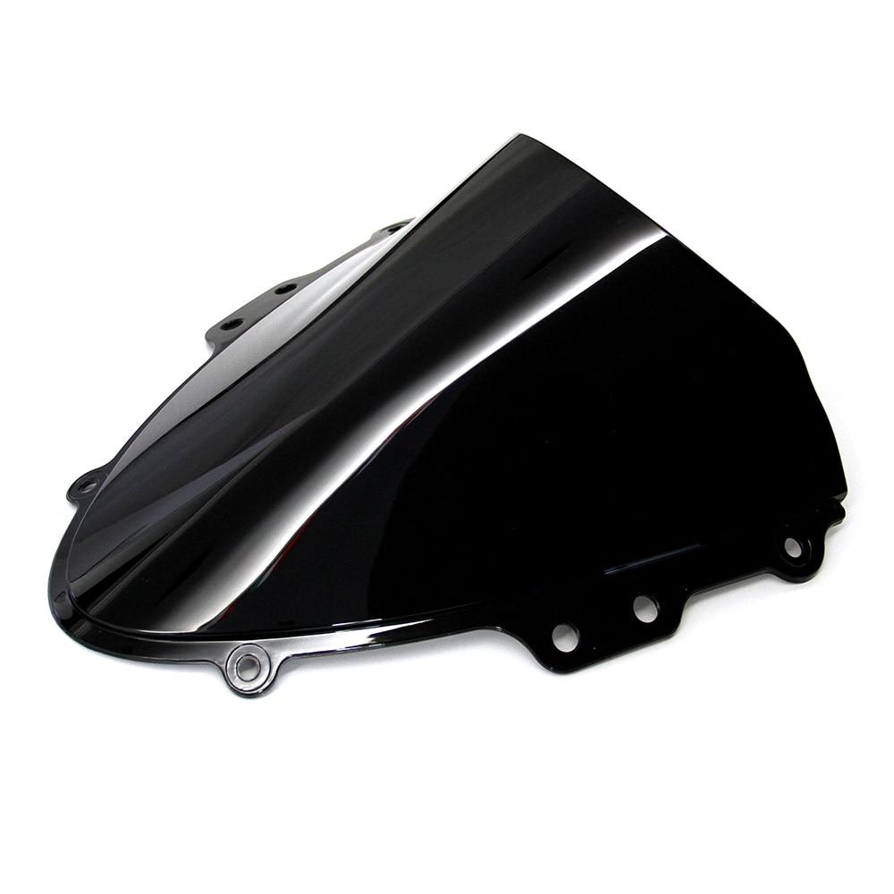 Motorcycle Part Black Windshield / Windscreen For Suzuki GSXR GSX R 600/750 K4 2004 2005