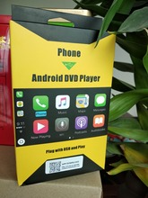 Navirider Android автомобильный gps навигационные аксессуары Внешний порт CarPlay штекер с usb и играть с android авто телефон с функцией зарядное устройство