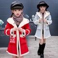 Nueva chaqueta de invierno los niños del otoño de Los Niños capa de la manera capa del bebé trajes de niña bebé chaqueta rompevientos para las niñas L2259
