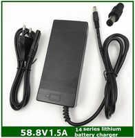 58.8V1.5A 58.8V 1.5A Xe Đạp Điện Sạc Pin Lithium Cho 14 Series Pin Lithium 58.8V1.5A Sạc
