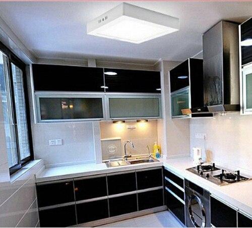 W LED Surface Ceiling Light ACV V Kitchen Light Square Type - Types of kitchen ceiling lights