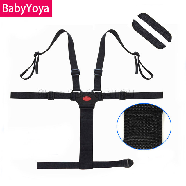 BABYYOYA Universal Baby 5 Point Harness Safe Belt Seat Belts ...