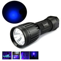 UniqueFire 1408 Made With 3 365 370nm UV Led Bulb Ultraviolet Flashlight Torch Spot Scorpions Pet