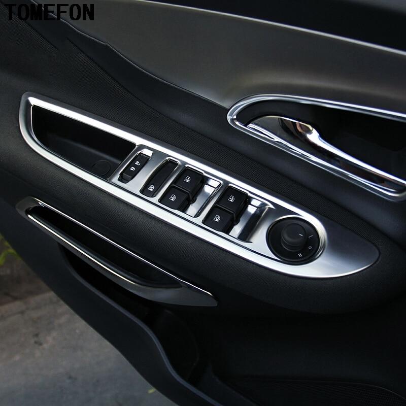 2 Chrome Front Fog Light Lamp Frame Cover Trim For Buick Envision 2016-2017-2018