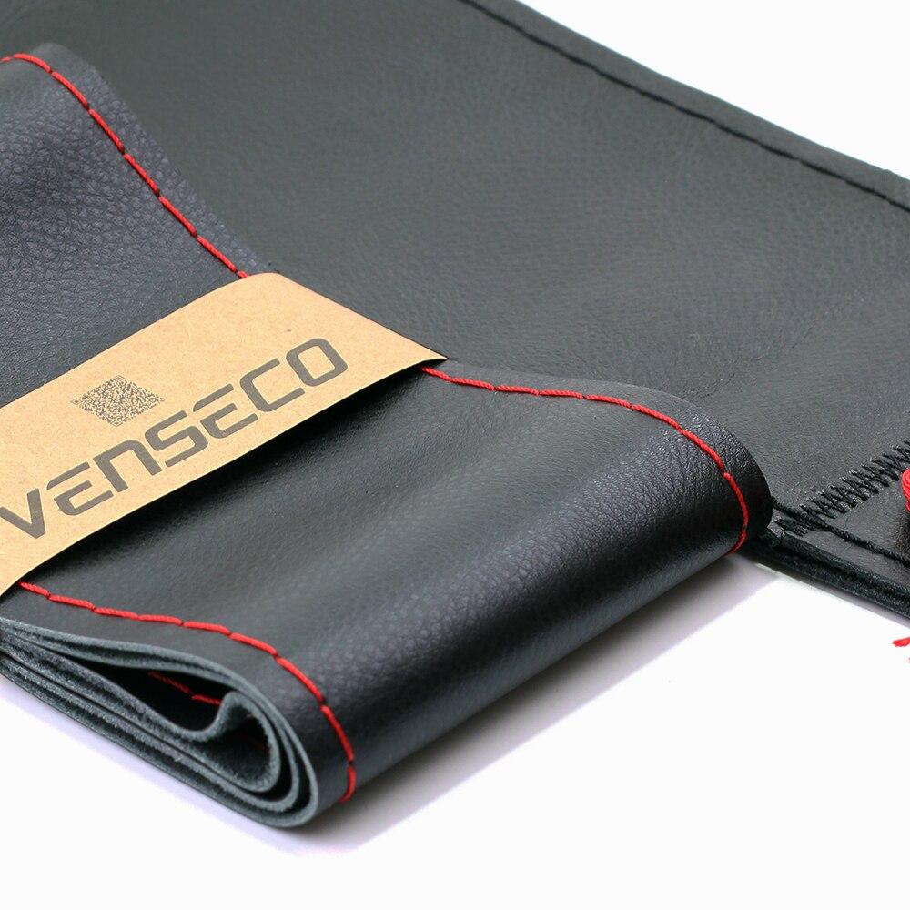 VENSECO 38 cm hakiki deri direksiyon kapağı üst katman deri bmw - Araç Içi Aksesuarları - Fotoğraf 2