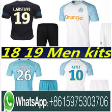 Olympique de Marseille kit sets Soccer jersey 2018 2019 OM Marseille  Maillot De Foot PAYET L.GUSTAVO THAUVIN jerseys 1819 footb f75a097e5