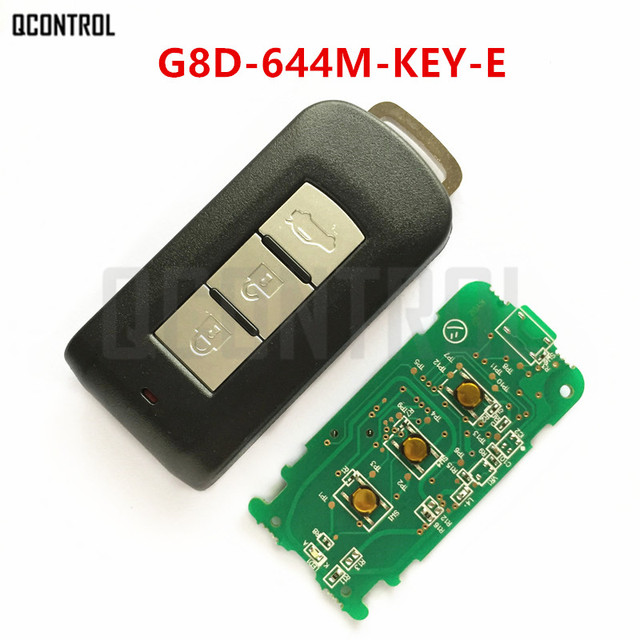 QCONTROL Car Remote Smart Key Suit for MITSUBISHI G8D 644M KEY E ASX Outlander Sport Pajero Shogun Montero Lancer RVR