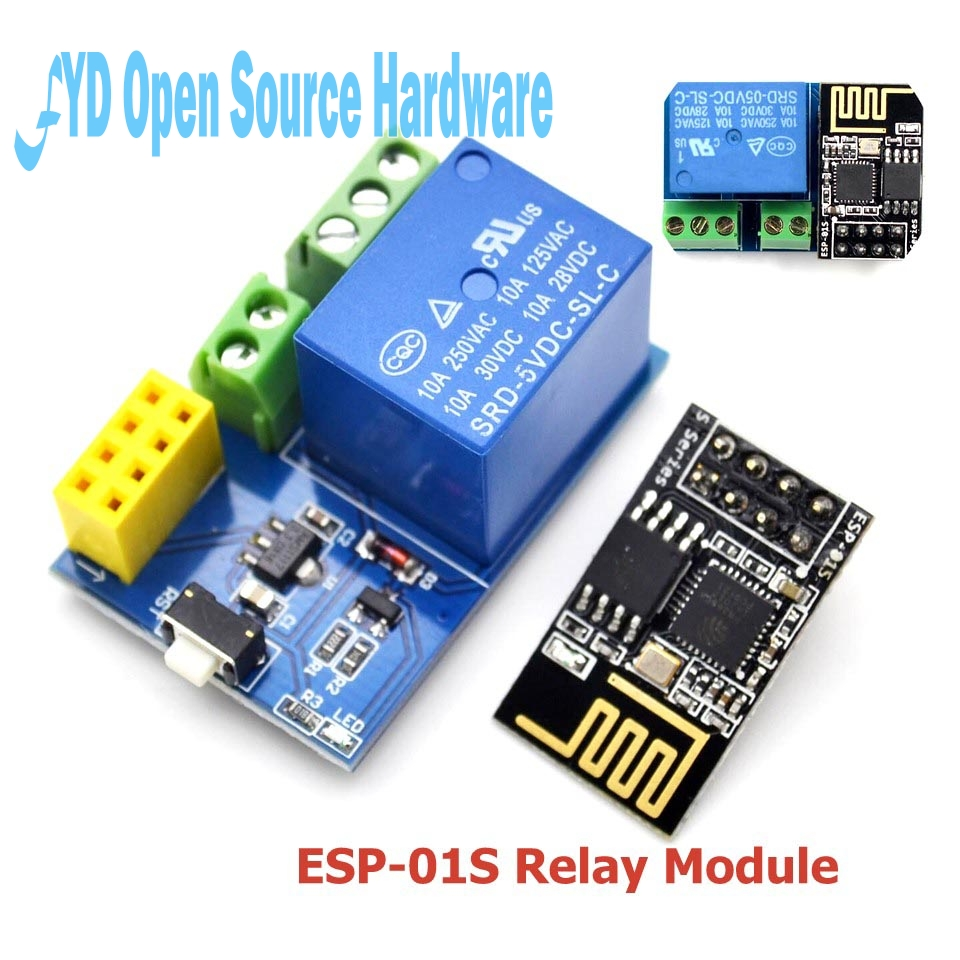 1set esp8266 5v wifi relay module things smart home remote control switch phone app esp 01 in. Black Bedroom Furniture Sets. Home Design Ideas