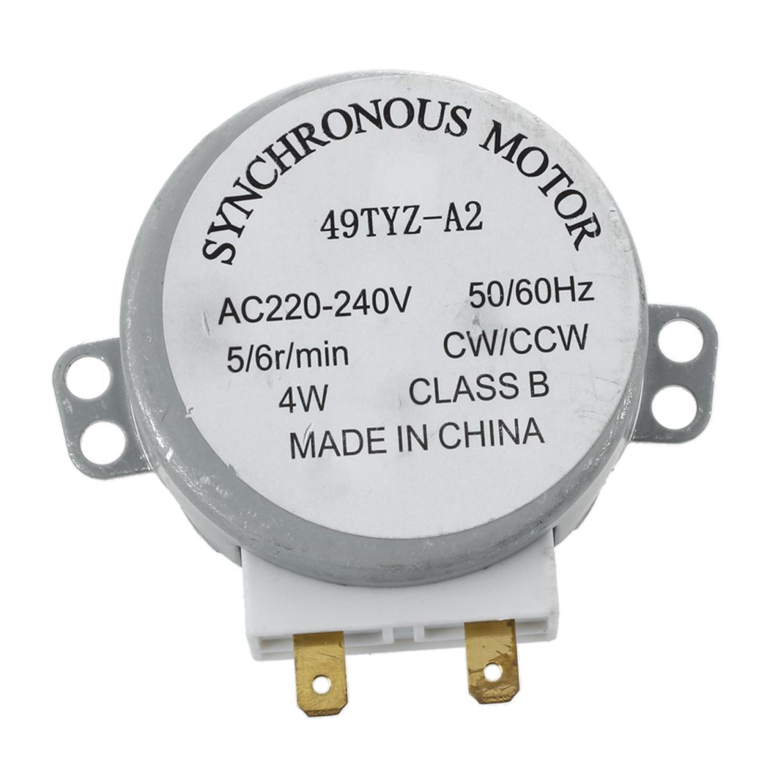 цена на AC 220-240V 50/60Hz 5/6RPM 4W Turntable Synchronous Motor for miniwave Oven Microwave oven accessories