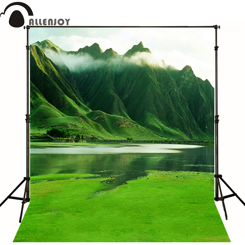 300*600cm(10ft*20ft) background photography Mountains and natural scenery photography backdrops 300 600cm 10ft 20ft spring background photo studio villa natural photography backdrops