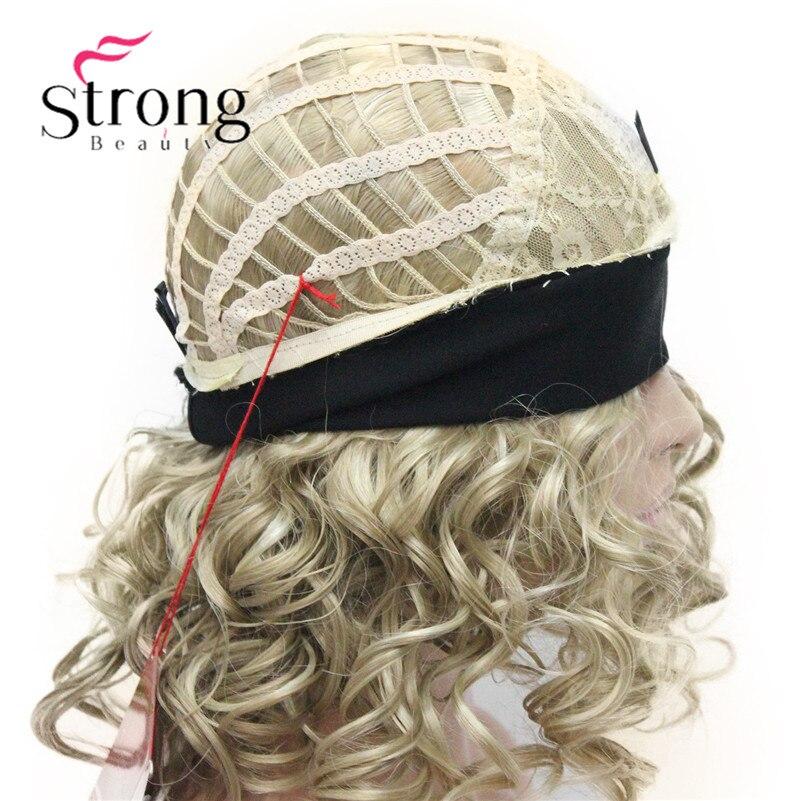Image 5 - Светлые волосы, короткие 3/4 Женские синтетические волосы, завитые волосы с повязкой на голову, выбор цветаhair pieceshair curlyhair hair  АлиЭкспресс