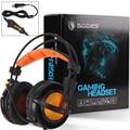 A6 gaming headset SADES 7.1 Surround sound usb headset gamer Gaming Наушники с микрофоном Светодиодные для компьютера pc ноутбук