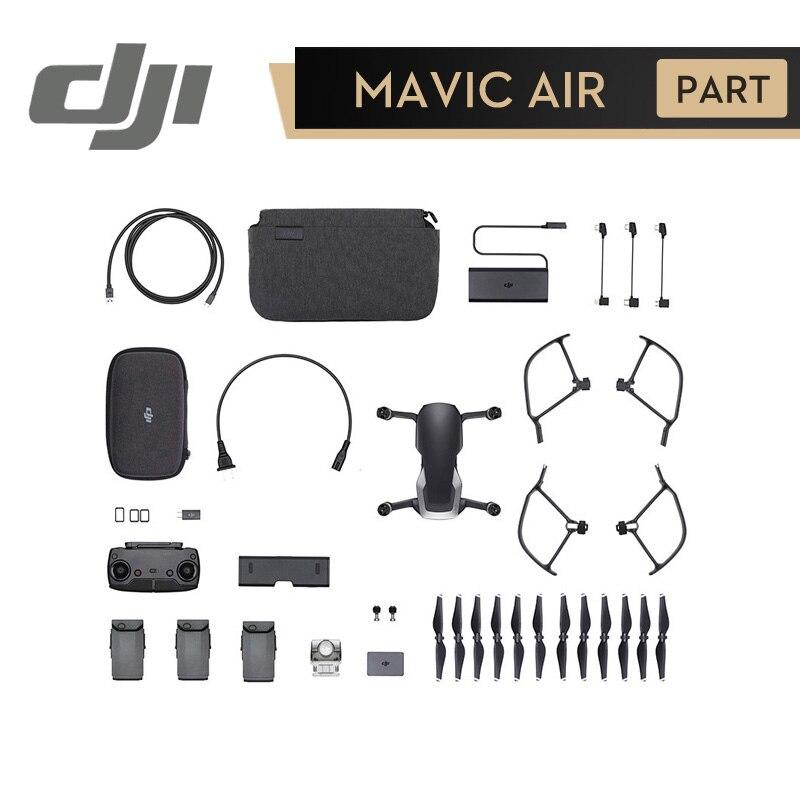 DJI Mavic Air Fly Più Combo Camera Drone RC Elicottero 3 Assi del Giunto Cardanico con 4 K 100 MPbps Video macchina fotografica 32MP Sfera Panorami
