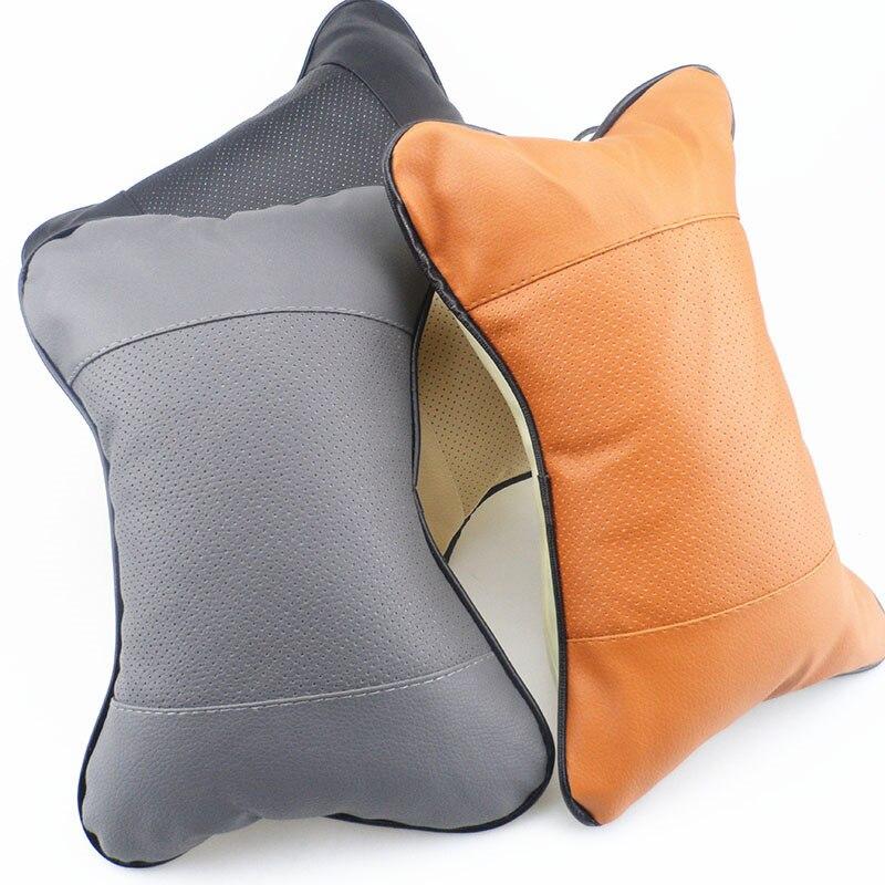 Lexus Crv: 2018 New Pu Leather Headrest Pillow Universal Comfortable