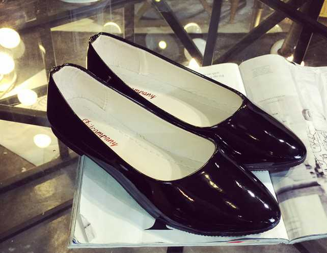 2016 new fashion flat font b women b font shoes european style pointed single shoes sexy