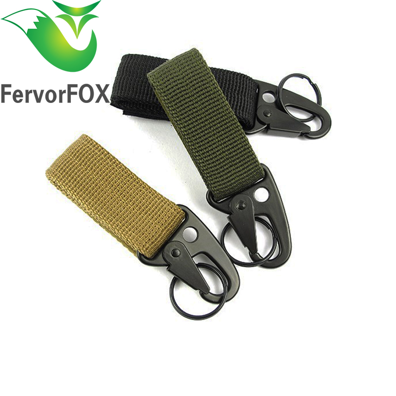 1pcs Outdoor Camping Equipment Carabiner Hunting Equipment Survival Kit Lock Carabine Mountain Travel Accessories