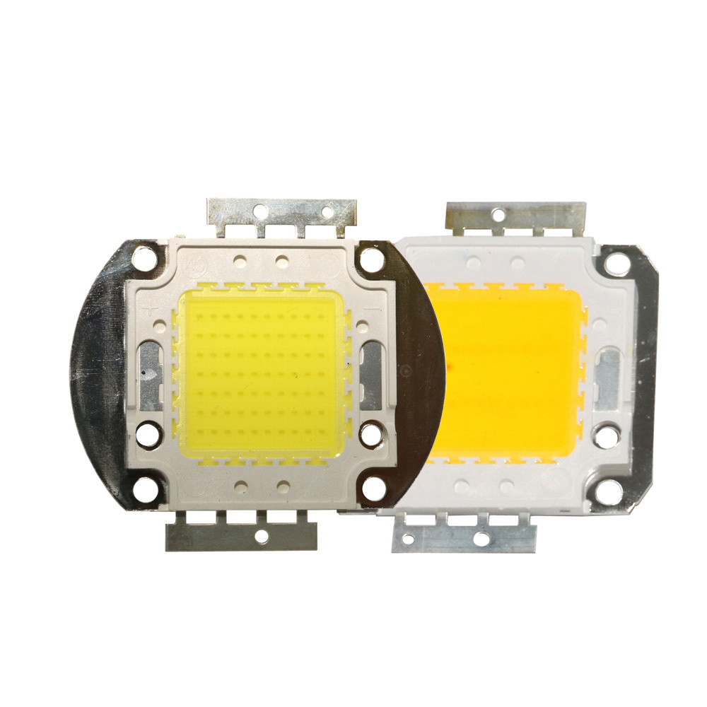 COB LED Chip DC12V 32V 10W 20W 30W 50W 70W 100W Smart IC COB LED Diode LED Bead DIY Bulb Lamp Outdoor Floodlight Spotlight