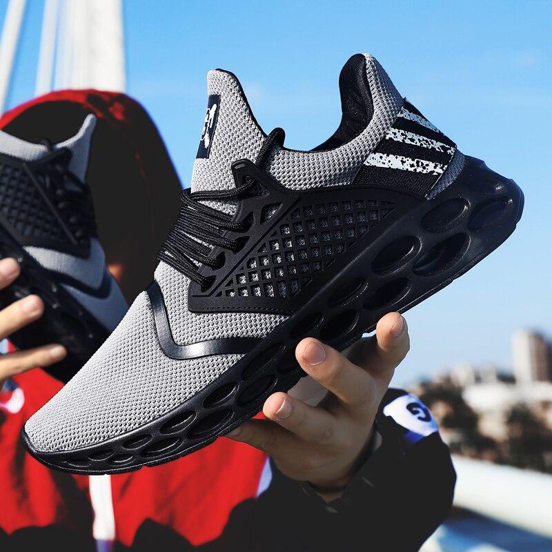 LZJ 2019 New Men White Sneakers Unisex Tenis Light Zapatillas Deportivas Hombre Mesh Casual Vulcanize Shoes Sapato Masculino