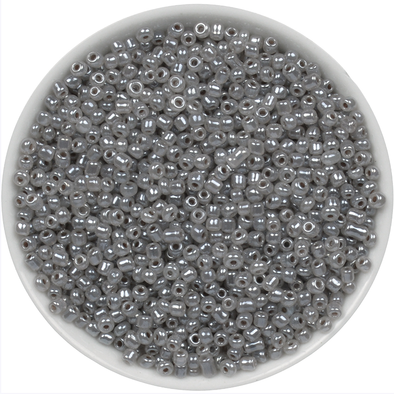 Gold and Silver Color 2mm 1000pcs Crystal Glass Spacer beads Czech Seed Beads For Jewelry Handmade DIY BLUV02X in Beads from Jewelry Accessories