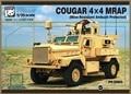 Modelo Panda PH35003 1/35 COUGAR 4 X 4 MRAP ( Mine - Resistant Ambush Protected ) kit modelo de plástico