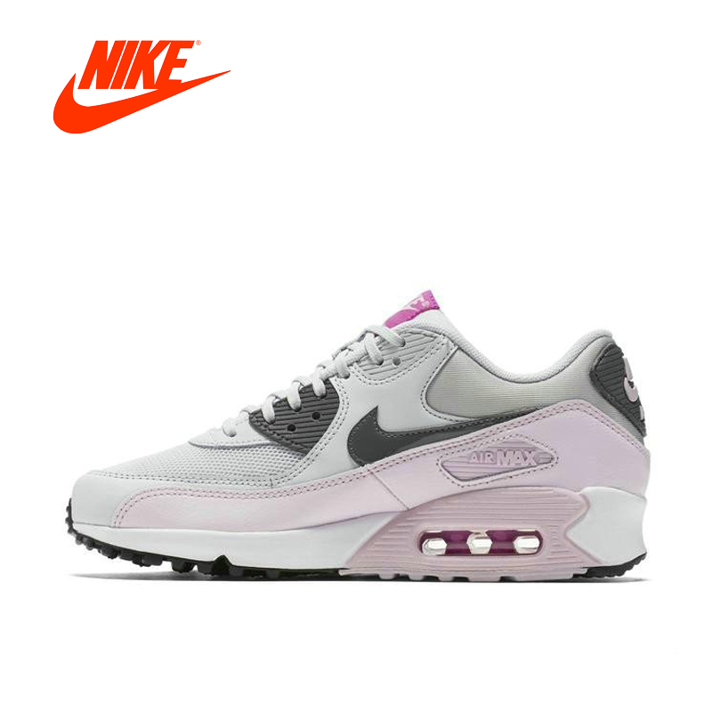 NIKE AIR MAX 90 ESSENTIAL Breathable Women s Running Shoes Sneakers Tennis Shoes Women Winter Running