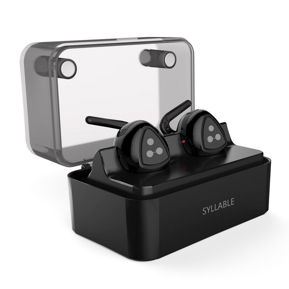 Bluetooth Headphones Wireless Earbuds Mini Twins Stereo Bluetooth Earbuds V4.1 Earphones Charging Case For IOS Android qcy qy19 bluetooth 4 1 headphones wireless workout earbuds