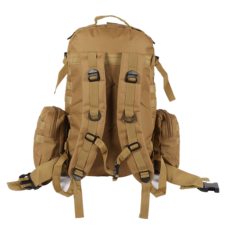 Outdoor Waterproof Backpack Molle 600D Nylon Assault Army Military Tactical Rucksacks Travel Camping Hiking Survival Bags 50L