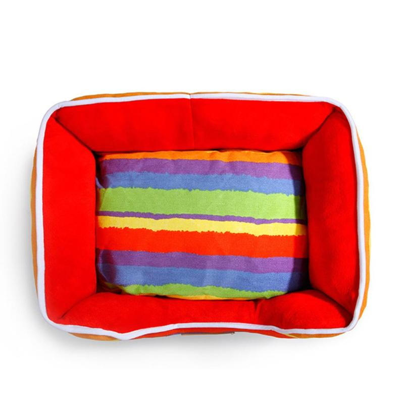 Pet House Dog Bed Padded Soft Pet Nest House Warm Indoor Dogs Sleeping Kennel Cushion For Cat Puppy Pet Supplies 2
