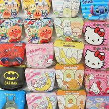 1 Pcs Kawaii Hello Kitty Twin Star My Melody Anpanman Coin Wallet Bag Zipper Coin Purse Stationery Coin Bags Card Holders(China)