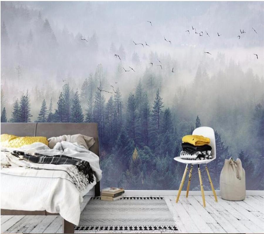 Wellyu Papel De Parede Para Quarto Custom Wallpaper Cool Nordic Tv Background Wall Living Room Bedroom Mural 3d Wallpaper Wallpapers Aliexpress