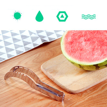 Watermelon Cutter Stainless Steel Cut Melons Fruit Knife Fast Watermelon Slicer Kitchen Cutting Tools kitchen Gadgets