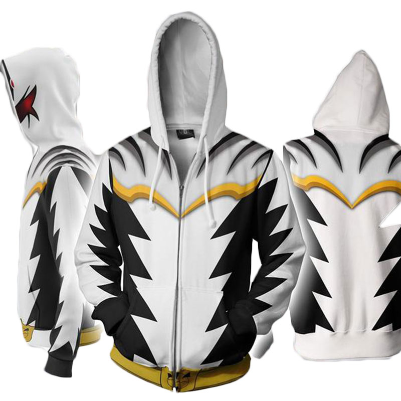 Cloudstyle Cosplay 3D Zip Up Hoodies Άνδρες Dino Charge 3D - Ανδρικός ρουχισμός - Φωτογραφία 5