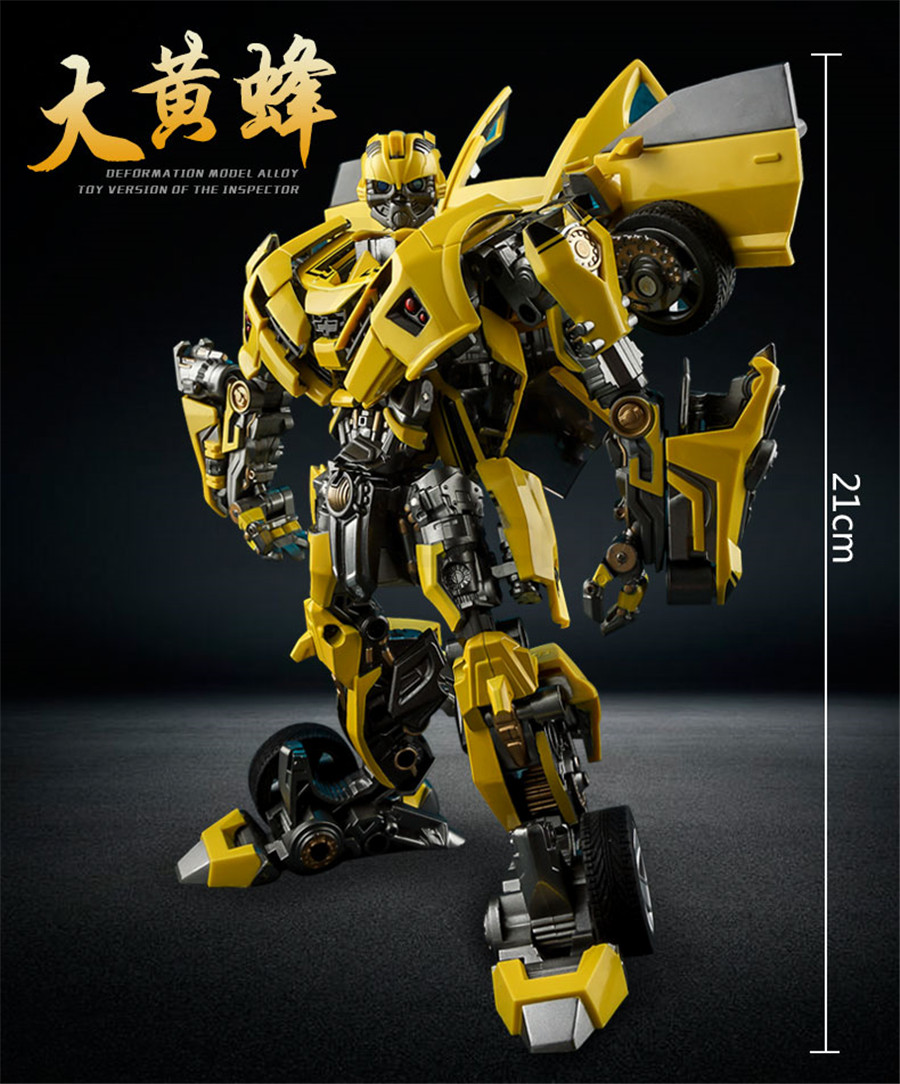 Image 3 - COMIC CLUB Weijiang Transformation War Hornet Mpm03 MP21 Battle Blades Movie Film 5 Edition Alloy Action Figure Collection ToysAction & Toy Figures   -