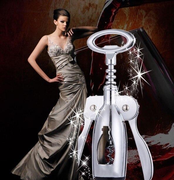 1PC Ocel Pivovar otvírák Vakuum Utěsněné Šumivé Šampaňské Víno Láhev Saver Zátkový Víčko Otvírák KX 134  t