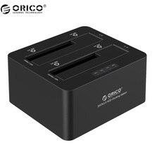 ORICO 6629S3-V1 2 Bahía Superspeed usb $ number a SATA I/II/III Duro unidad de Estación de Acoplamiento con la Función de Copia para 2.5/3.5 HDD y SSD